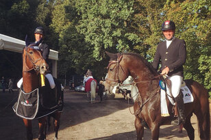 Equiline Youngster Cup for Holger Wulschner and Diamant de Plaisir, Hendrik and Casalido on the 2nd plac